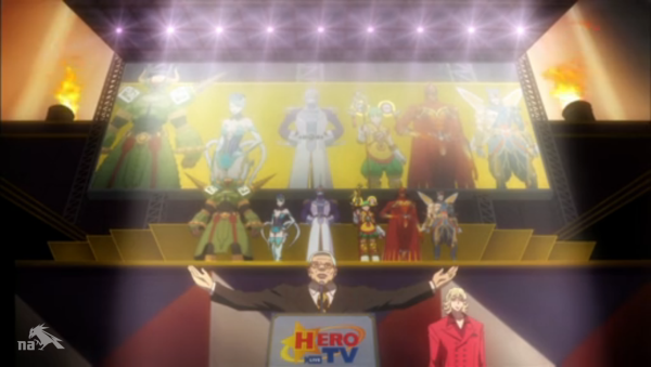 Tiger and Bunny team