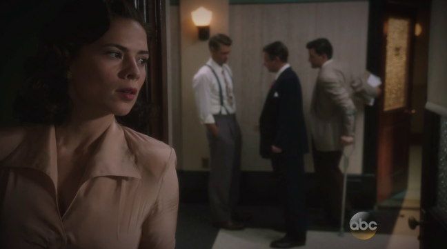 Hayley Atwell as Peggy Carter in 'Agent Carter'