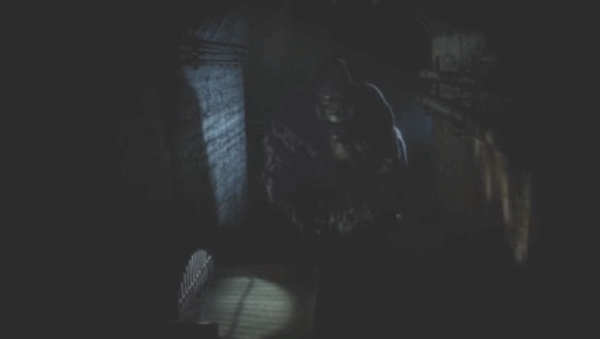 It's intentionally hard to see, but there's your first glimpse of Grodd.