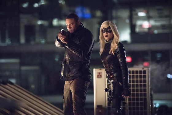 Arrow - Al Sah-Him - Diggle and Black Canary
