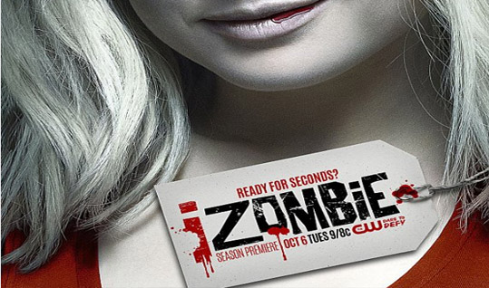iZombie -- Image Number: ZMB1_KeyArt2.jpg -- Pictured: Rose McIver as Liv -- Photo: Jordon Nuttall/The CW -- �© 2015 The CW Network, LLC. All rights reserved.