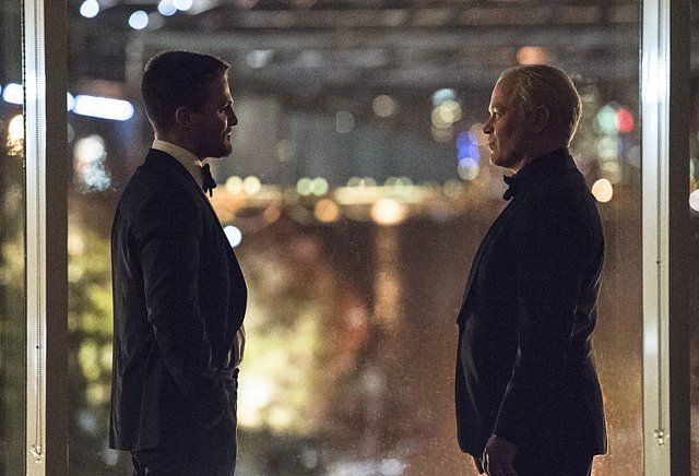 Arrow - Brotherhood - Oliver and Darhk