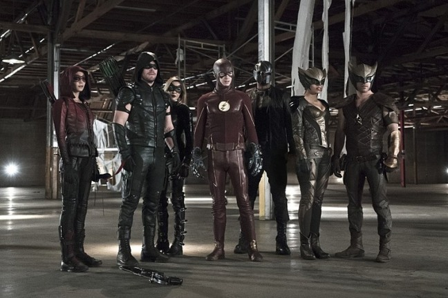 arrow-league-of-yesterday-speedy-green-arrow-black-canary-hawkman-flash-hawkgirl-diggle