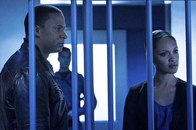 arrow awol review - diggle and waller
